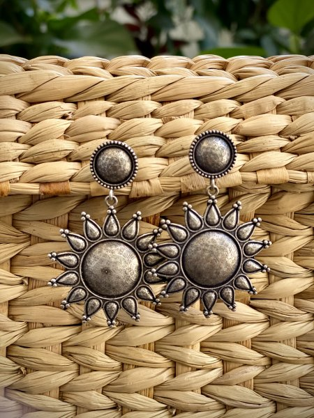 ANTIQUE SURYA EARRINGS