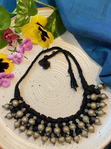 2 LAYER TRIBAL CHOKER NECKPIECE